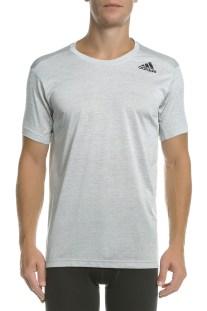 adidas Performance - Ανδρική κοντομάνικη μπλούζα GRADIENT TEE λευκή