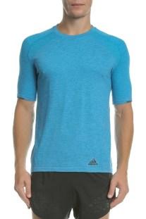adidas Performance - Ανδρική μπλούζα PKNIT μπλε