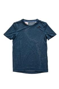 adidas Performance - Παιδική κοντομάνικη μπλούζα TEXTURED μπλε