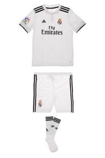 adidas Performance - Παιδικό σετ adidas REAL MADRID HOME MINI KIT λευκό