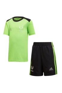 adidas performance - Παιδικό σετ ποδοσφαίρου adidas performance LB Messi πράσινο-μαύρο