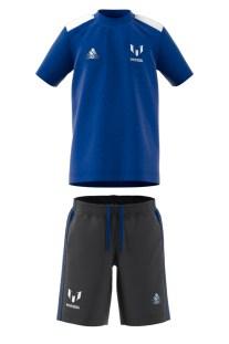 adidas performance - Παιδικό σετ ποδοσφαίρου adidas performance LB Messi μπλε-γκρι
