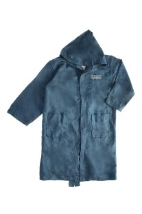 ARENA - Παιδικό μπουρνούζι ARENA ZEAL μπλε
