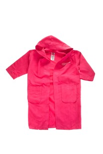 ARENA - Παιδικό μπουρνούζι ARENA ZEAL ροζ