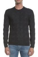 ARMANI JEANS - Ανδρικό πουλόβερ ARMANI JEANS μαύρο
