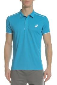 ASICS - Ανδρική πόλο μπλούζα ASICS GEL-COOL PRFM μπλε