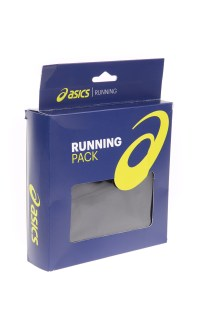 ASICS - Unisex σετ σκουφάκι και γάντια ASICS RUNNING PACK μαύρα