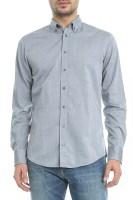 BOSS - Ανδρικό πουκάμισο BOSS Edipoe 10 γκρι