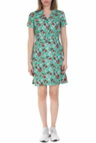 CALVIN KLEIN JEANS - Γυναικείο μίνι φλοράλ φόρεμα Calvin Klein Jeans πράσινο