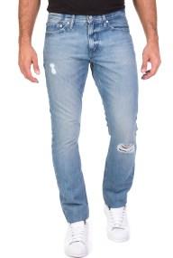 CALVIN KLEIN JEANS - Ανδρικό τζιν παντελόνι Slim CALVIN KLEIN JEANS γαλάζιο