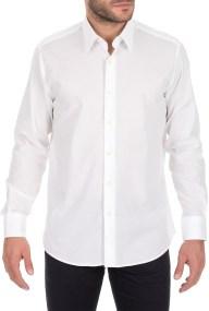 JUST CAVALLI - Ανδρικό πουκάμισο JUST CAVALLI λευκό