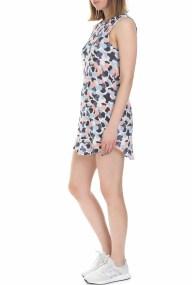 FRANKLIN & MARSHALL - Γυναικείο μίνι φόρεμα Franklin & Marshall πολύχρωμο