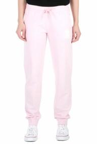 FRANKLIN & MARSHALL - Γυναικείο παντελόνι φόρμας FRANKLIN & MARSHALL ροζ