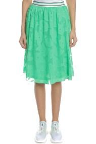 GARCIA JEANS - Γυναικεία midi φούστα GARCIA JEANS πράσινη