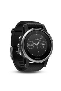 GARMIN - Unisex αθλητικό ρολόι με GPS fenix 5s ασημί - μαύρο