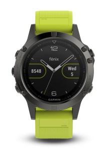 GARMIN - Unisex αθληιτκό ρολόι με GPS fenix 5 κίτρινο