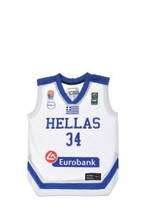 GSA - Mπλούζα της Εθνικής Ελλάδος λευκή