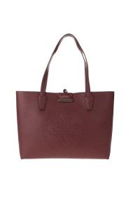 GUESS - Γυναικεία τσάντα shopper GUESS HANDBAG μπορντό ροζ