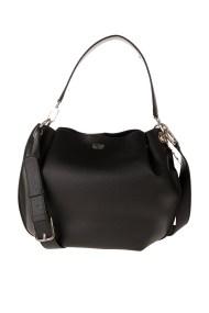 GUESS - Γυναικεία τσάντα ώμου GUESS DIGITAL HOBO μαύρη