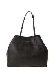 GUESS - Γυναικεία τσάντα ώμου GUESS VIKKY LARGE TOTE μαύρη