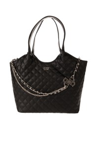 GUESS - Γυναικεία τσάντα ώμου GUESS μαύρη