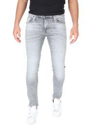 GUESS - Ανδρικό jean παντελόνι GUESS CHRIS - STRANGER γκρι