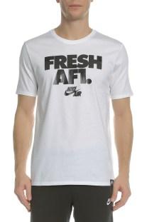 NIKE - Κοντομάνικη μπλούζα NIKE TEE AF1 λευκή