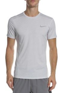 NIKE - Ανδρική κοντομάνικη μπλούζα NIKE COOL MILER TOP SS λευκή