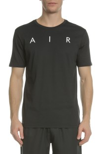 NIKE - Κοντομάνικη μπλούζα NIKE JORDAN RISE BASKETBALL PHOTO μαύρη