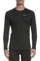 NIKE - Ανδρική μακρυμάνικη μπλούζα THRMA TOP LS μαύρη