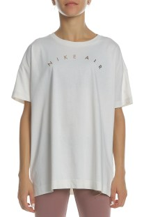 9fa757bf6310 NIKE - Γυναικεία κοντομάνικη μπλούζα Sportswear Air Top NIKE λευκή