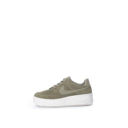 NIKE - Γυναικεία σουέντ παπούτσια Nike Air Force 1 Sage Low Wome χακί