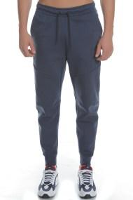 NIKE - Ανδρικό παντελόνι φόρμας TCH FLC μπλε