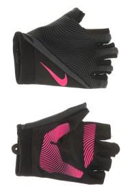 NIKE ACCESSORIES - Γυναικεία γάντια προπόνησης NIKE HAVOC TRAINING μαύρα-ροζ