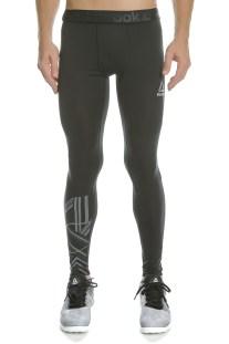 REEBOK - Ανδρικό κολάν για τρέξιμο WOR COMPR BRUSHED TIGHT μαύρο