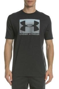 UNDER ARMOUR - Ανδρική κοντομάνικη μπλούζα UNDER ARMOUR BOXED SPORTSTYLE  μαύρη 1dff46b22d3