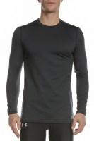 UNDER ARMOUR - Ανδρικό μακρυμάνικο μπλουζάκι Under Armour Coldgear Fitted Crew μαύρο
