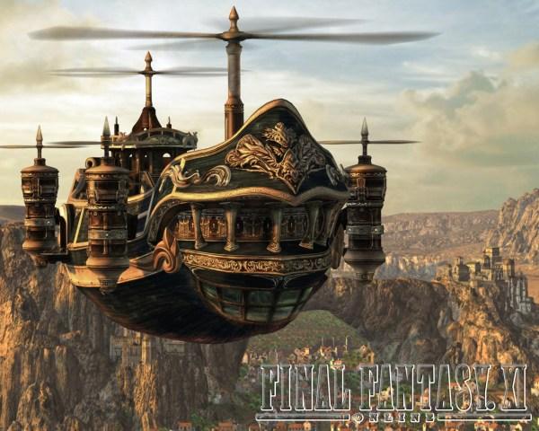 Airship Final Fantasy
