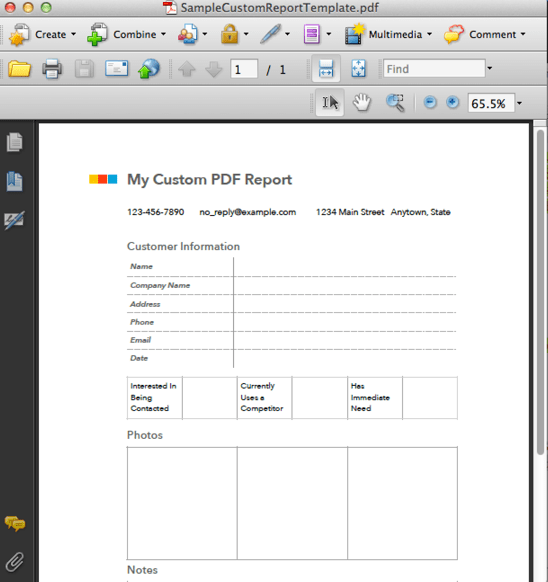 Download and install pdf editor on your computer. Custom Pdf Reporting Fastfield Mobile Forms Help Center