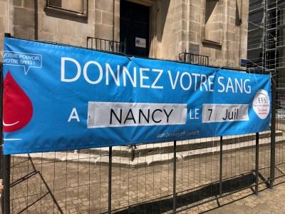 Meurthe-et-Moselle : Don de sang le 7 juillet à Nancy