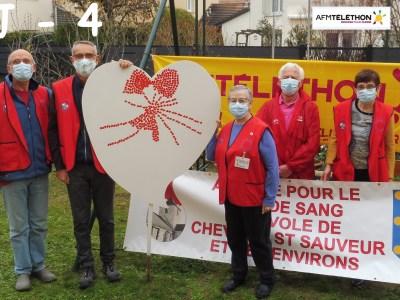 Côte-d'Or : L'Amicale de Chevigny Saint Sauveur soutient le Téléthon