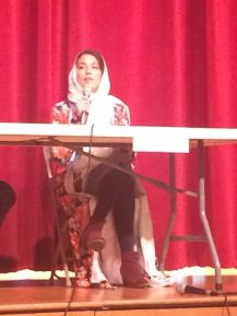 Sumaiya Ahmed speaks