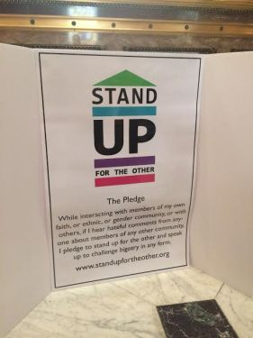 The Stand Up for the Other Pledge