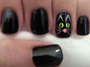 spooky diy halloween nails - fabfitfun
