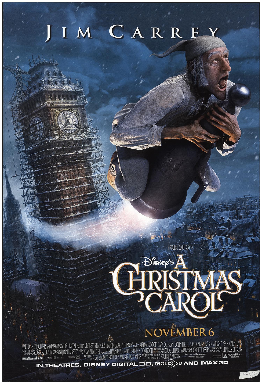 christmas carol posters