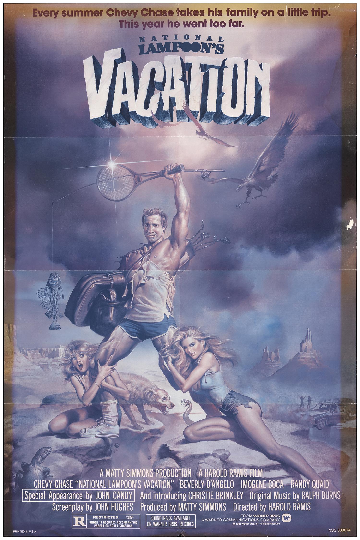 National Lampoon S Vacation 1983 Original Movie Poster Fff 70999 Fffmovieposters Com