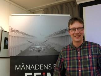 Martin Höst med sin vinnarbild