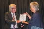 Lena, Nils-Erik och Wolfgang fick utmärkelser på RIFO 2017