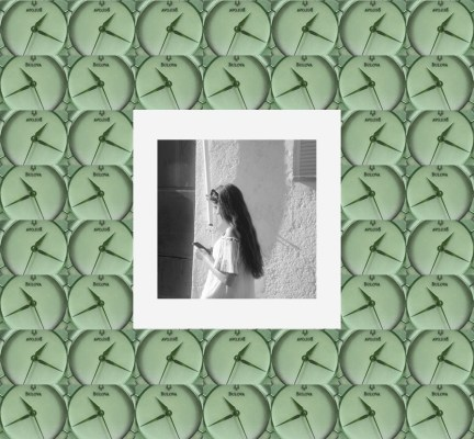 clockprintgreen