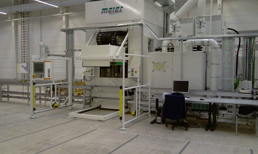 Production plant with conveyor system from Meier